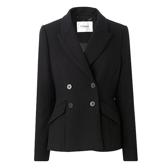 Nell Black Jacket