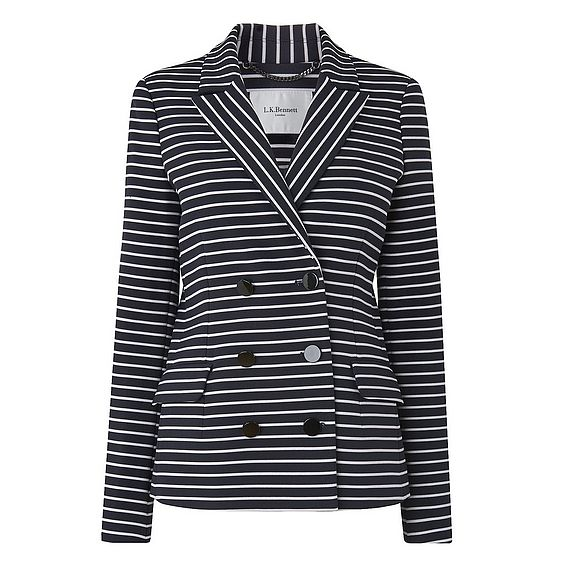 Rika Navy Stripe Jacket