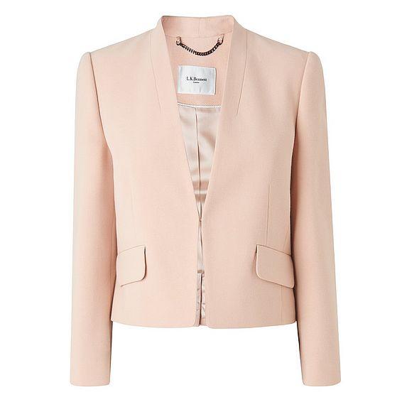 Rosie Pink Cropped Jacket
