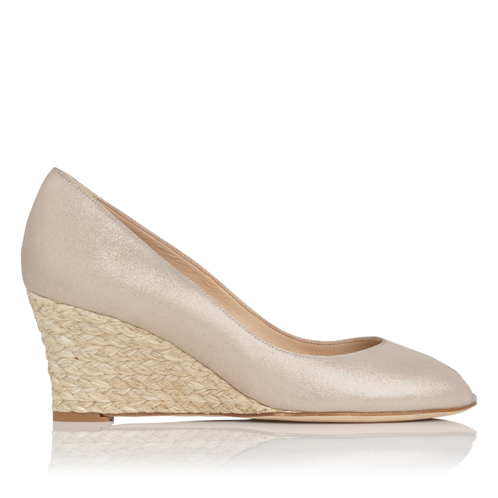 Edee Platinum Gold Wedge