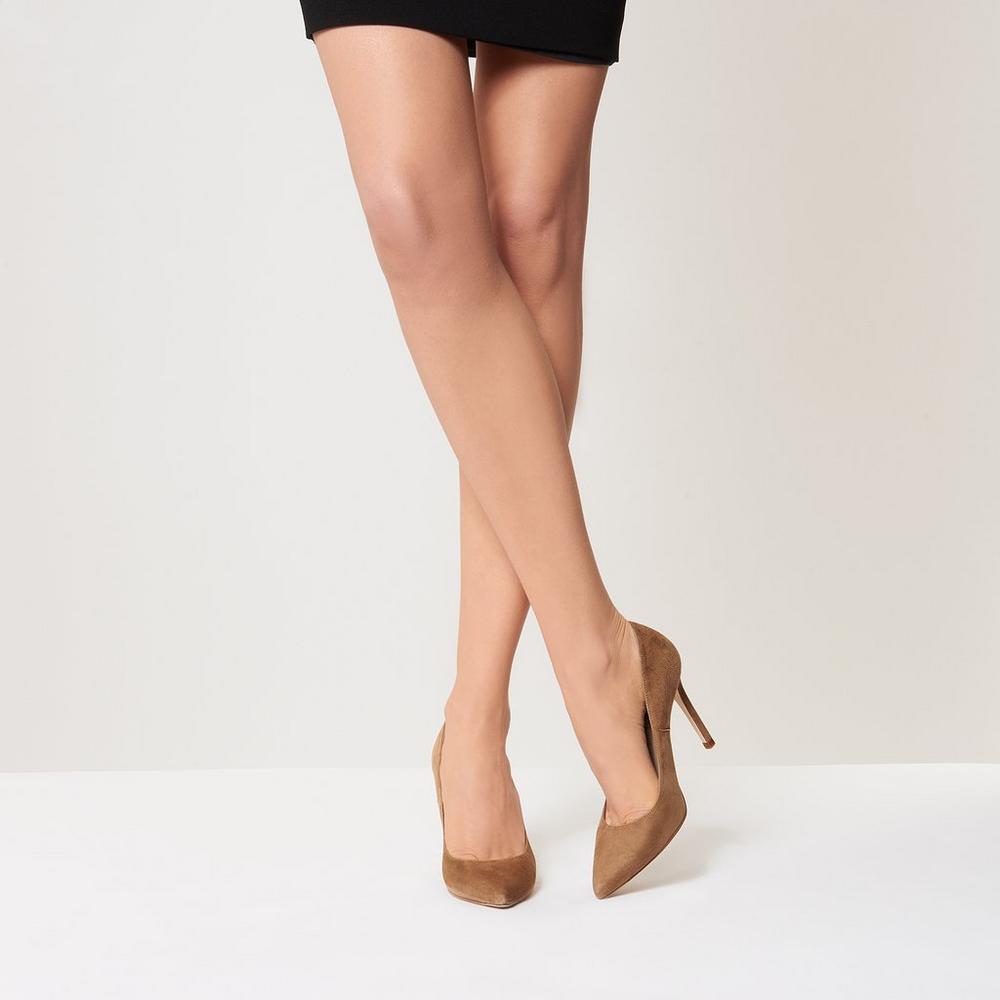 FERN - High heels - light biscuit