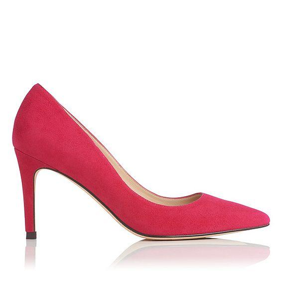 Floret Power Pink Suede Heel
