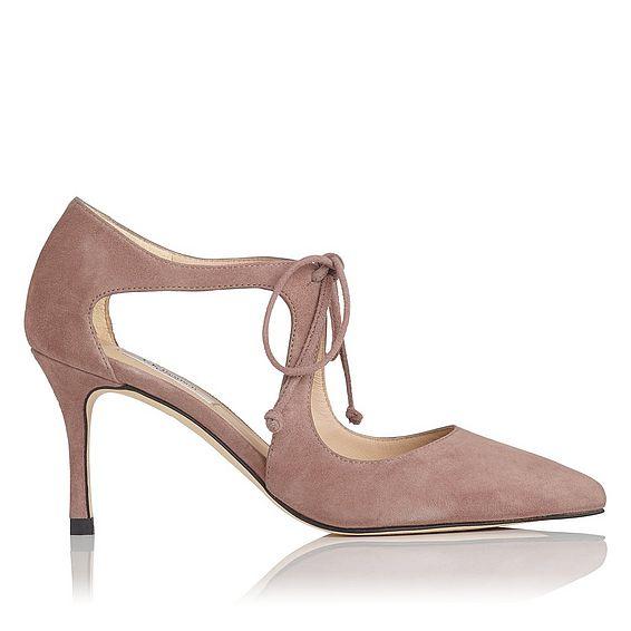 Hyelin Pink Suede Heel