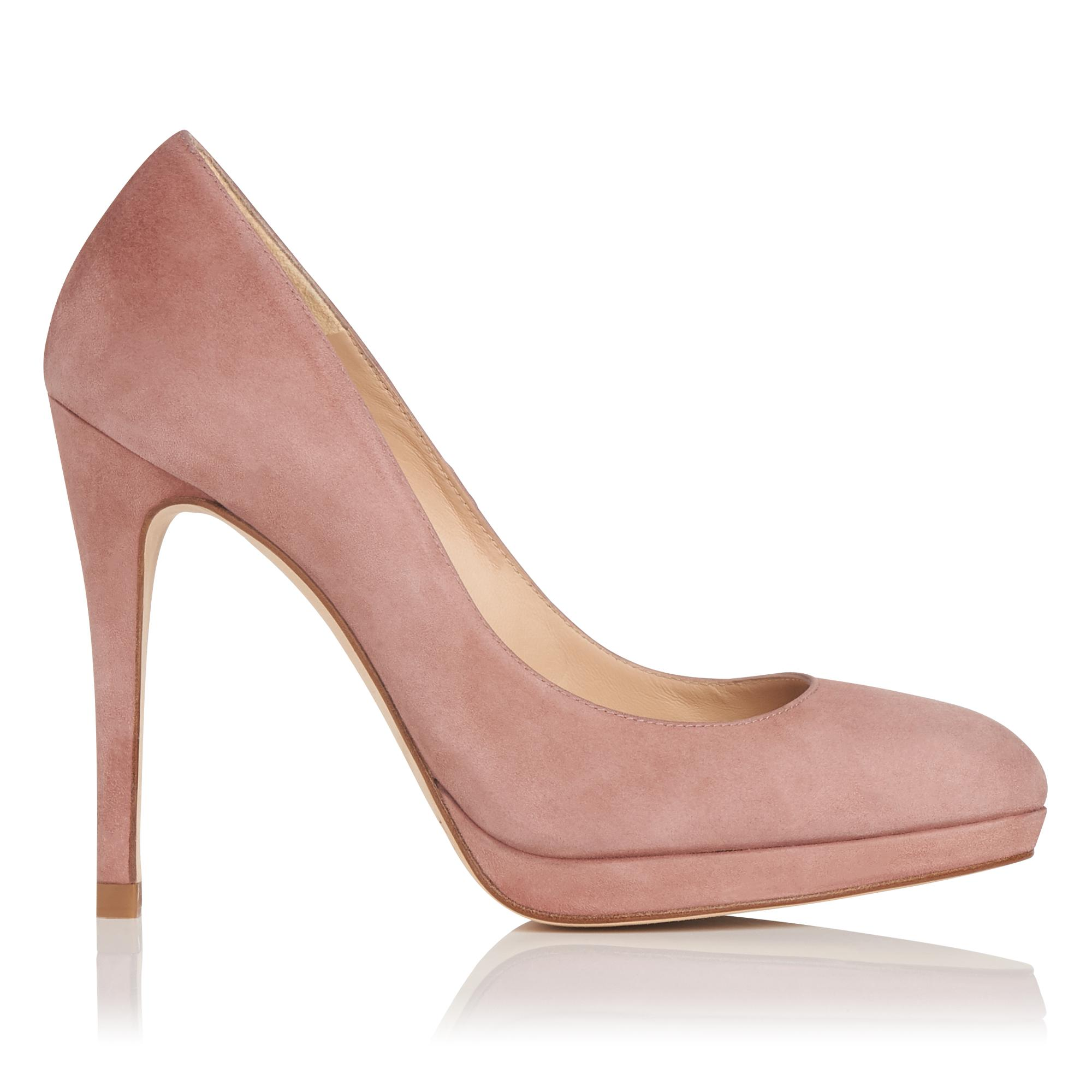New Sledge Pink Suede Heel