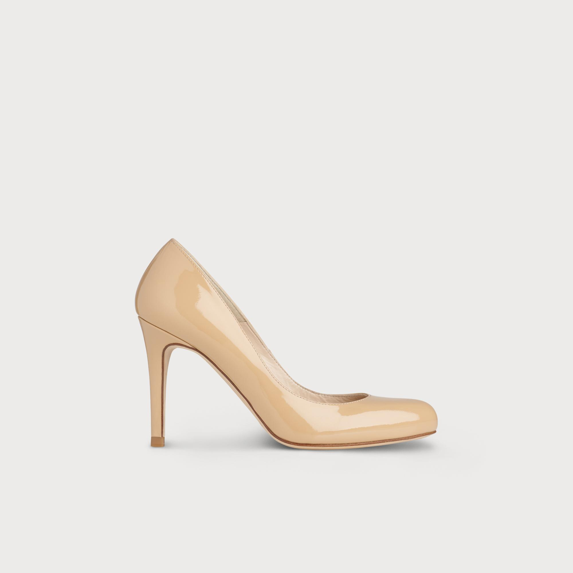 Stila Trench Patent Leather Heel