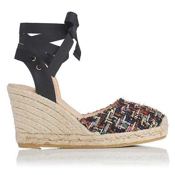 Tianna Tweed Espadrille Wedge