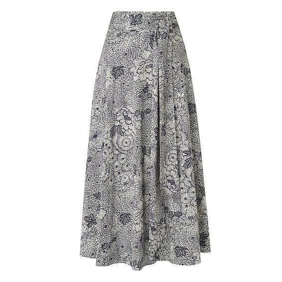 Aurell Floral Skirt