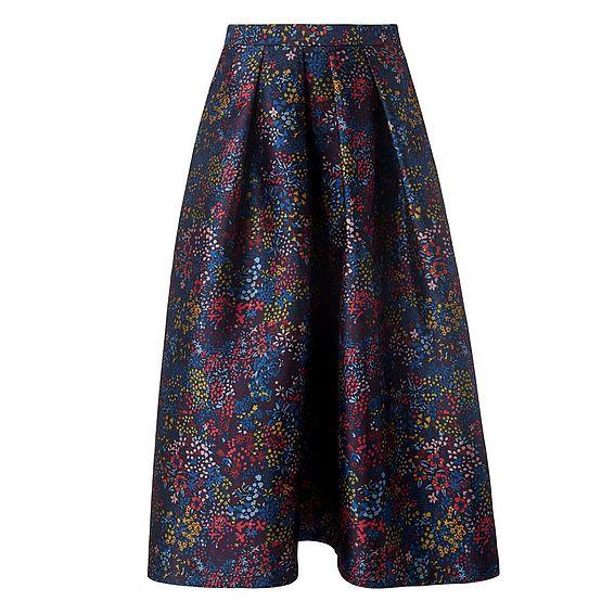 Aurorie Floral Print Skirt