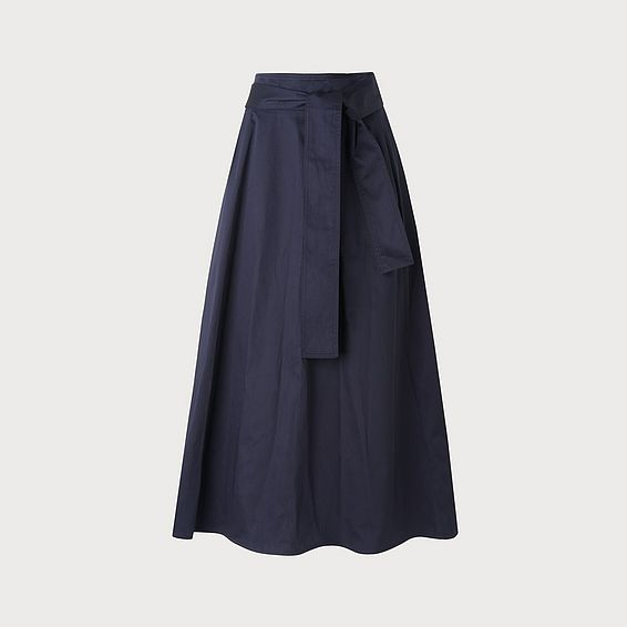 Lianne Navy Skirt