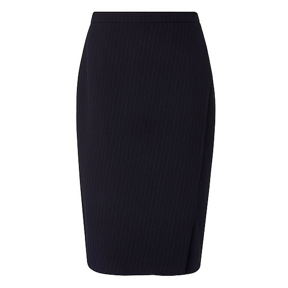 Rosanne Navy Pencil Skirt