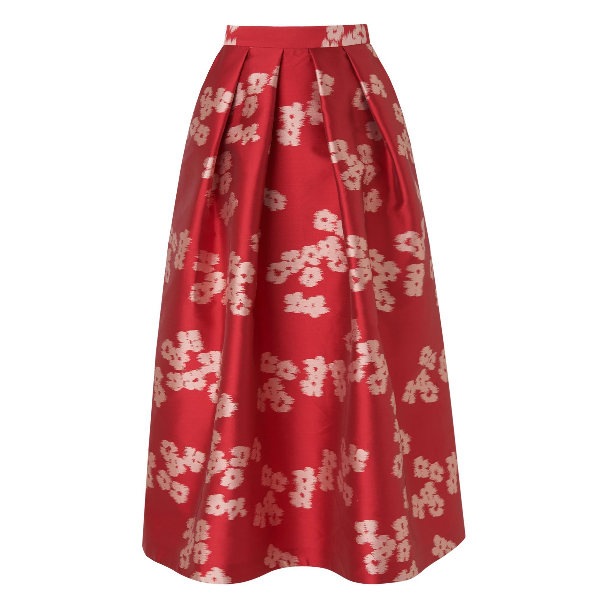 Sana Pink Floral Skirt