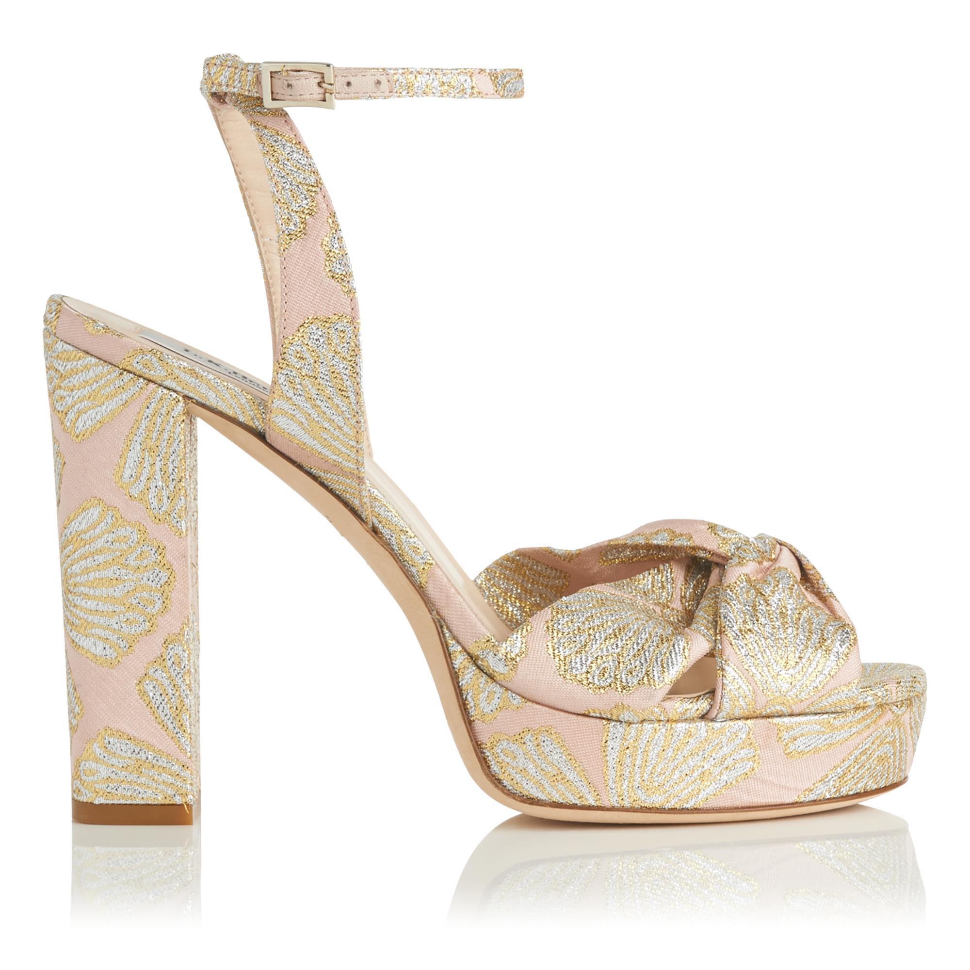 Annabella Pink Metallic Sandal