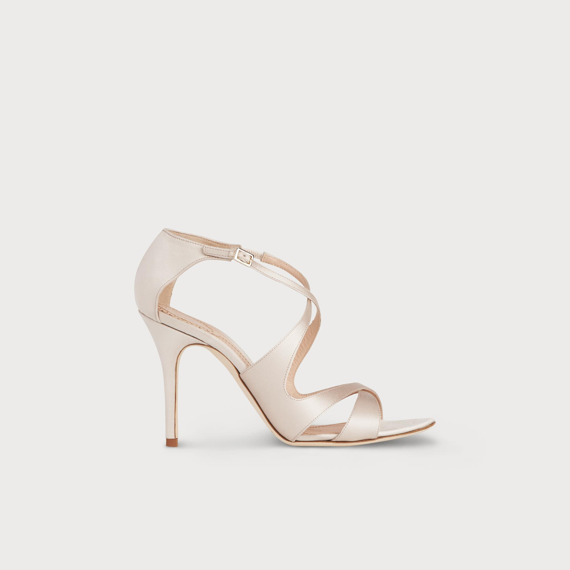 Brielle Satin Sandal