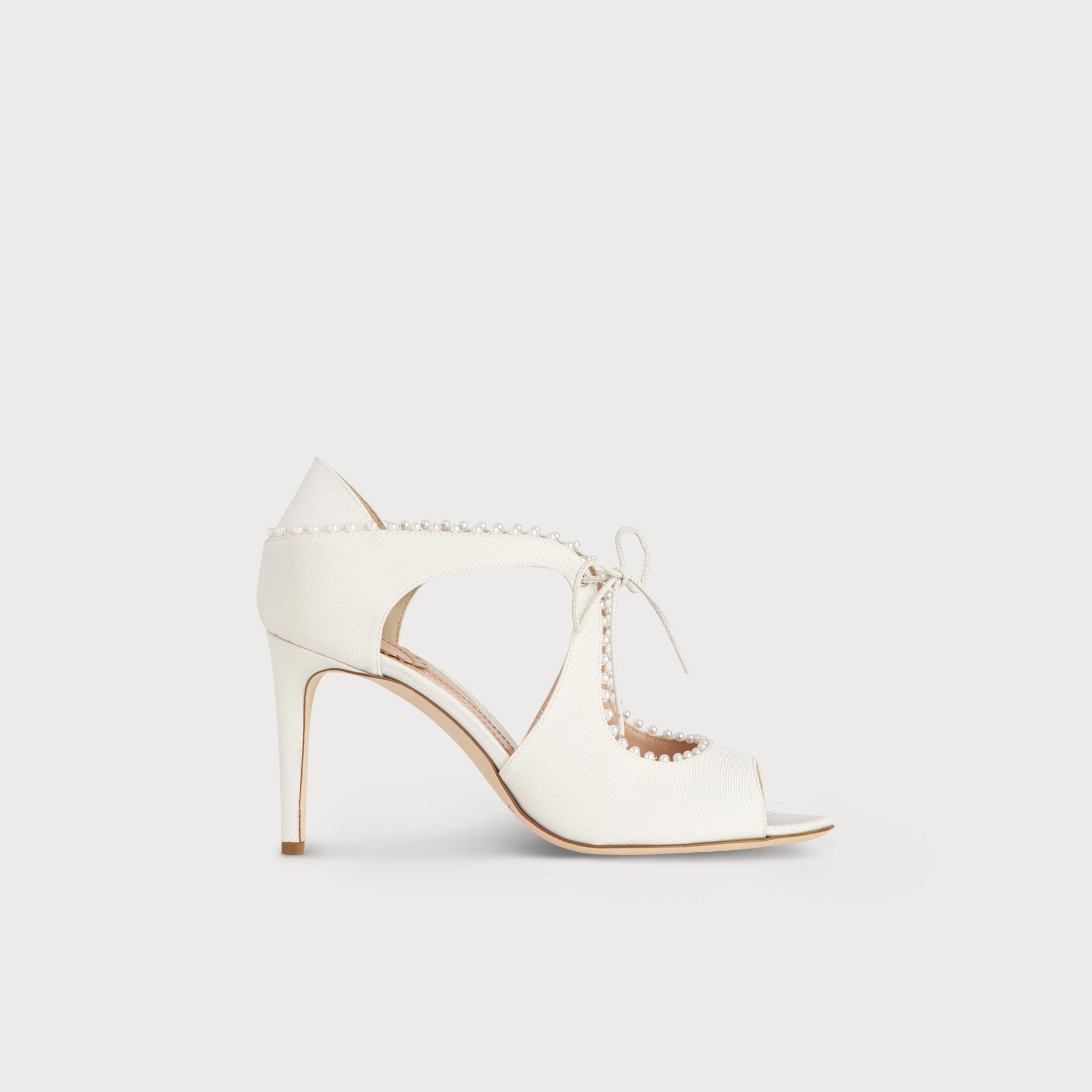 Ellena Ivory Embellished Heel