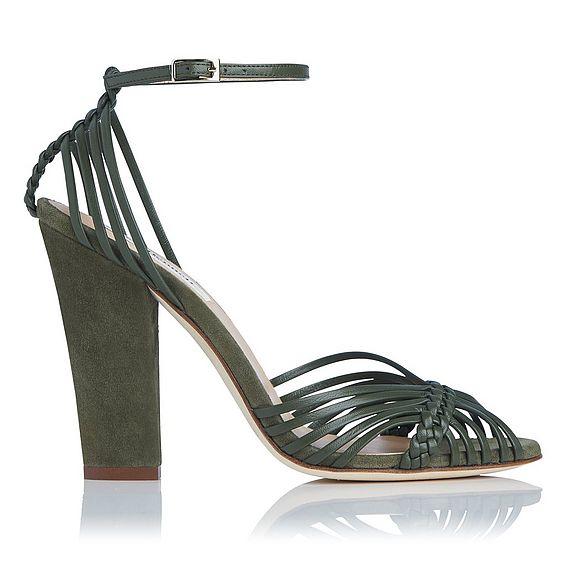 Lilybelle Khaki Green Sandal