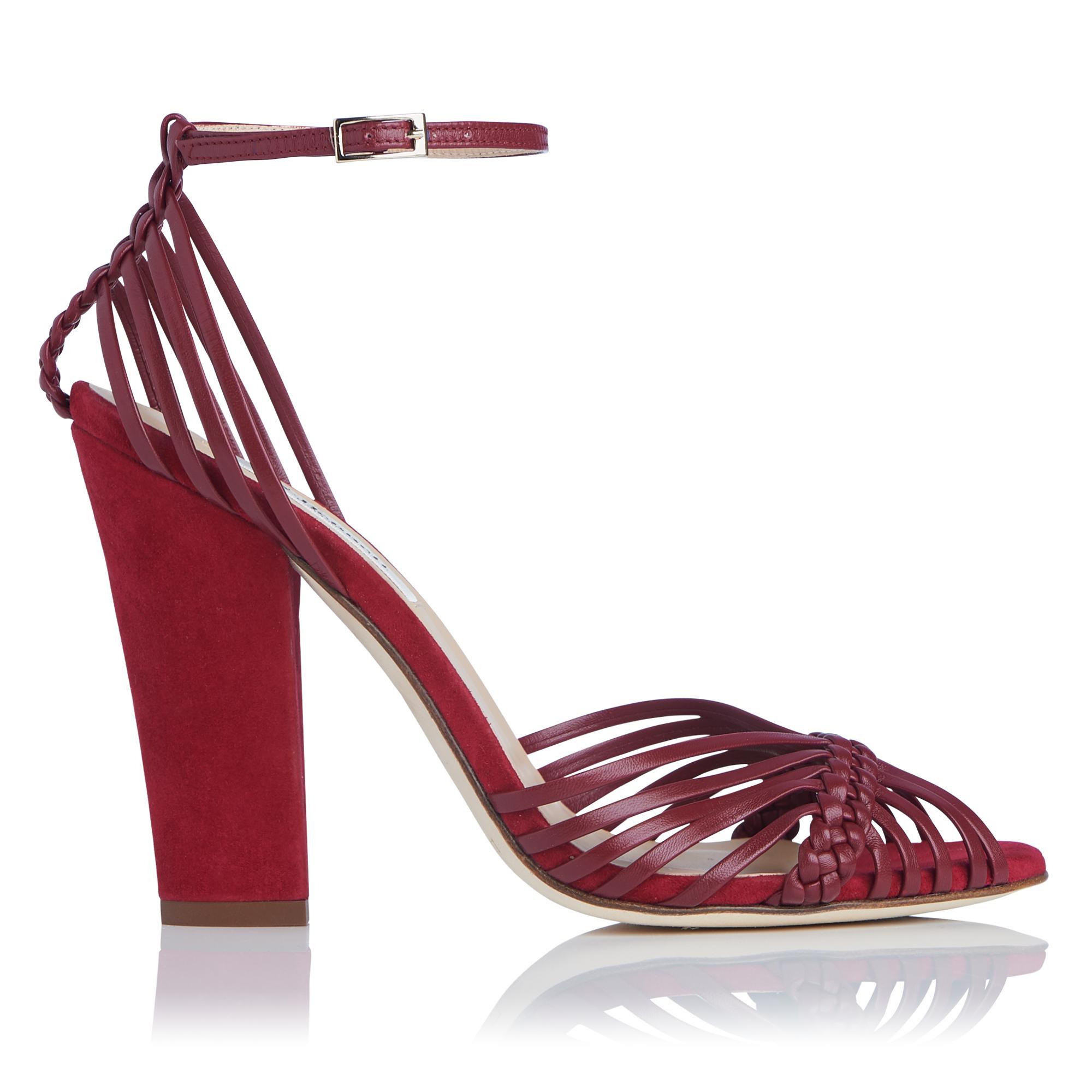 Lilybelle Red Sandal