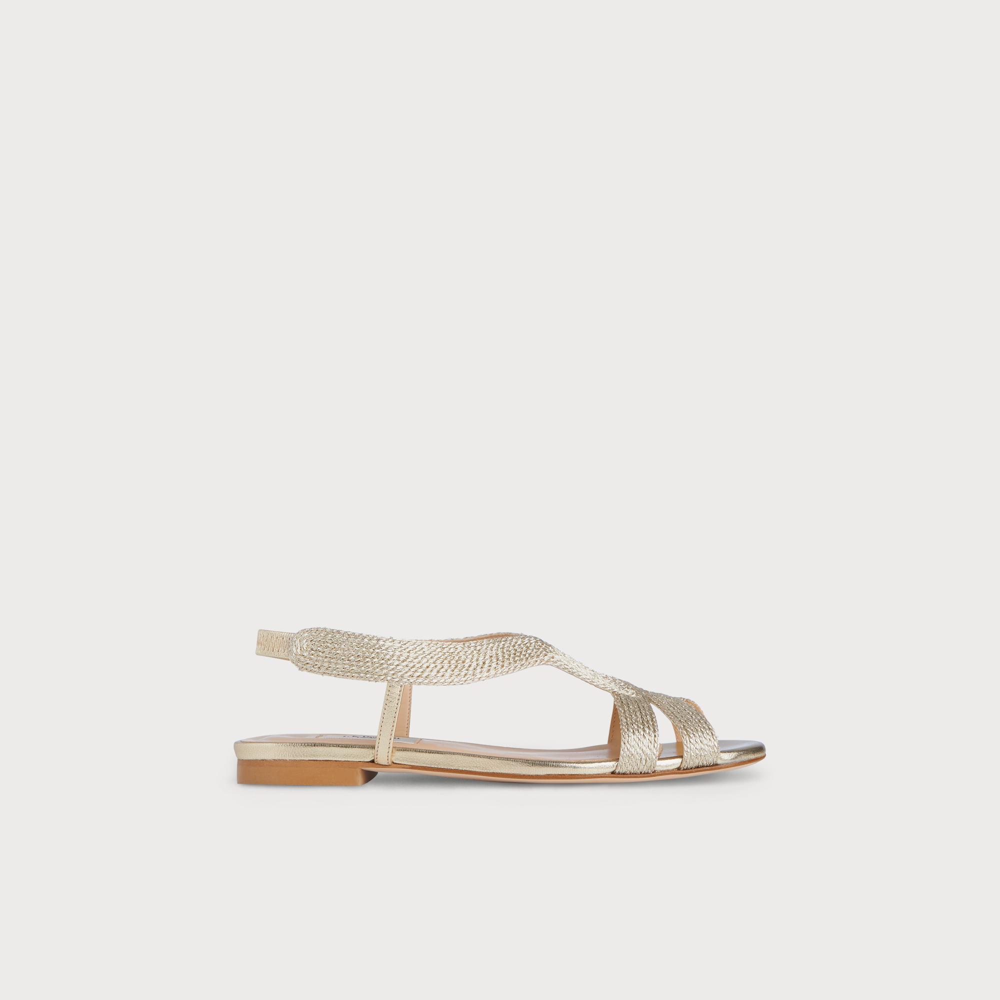 Maya Gold Sandal