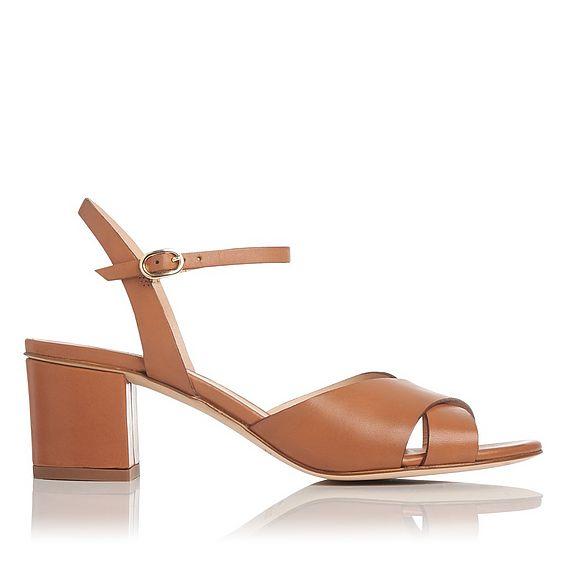 Tabitha Brown Leather Sandal