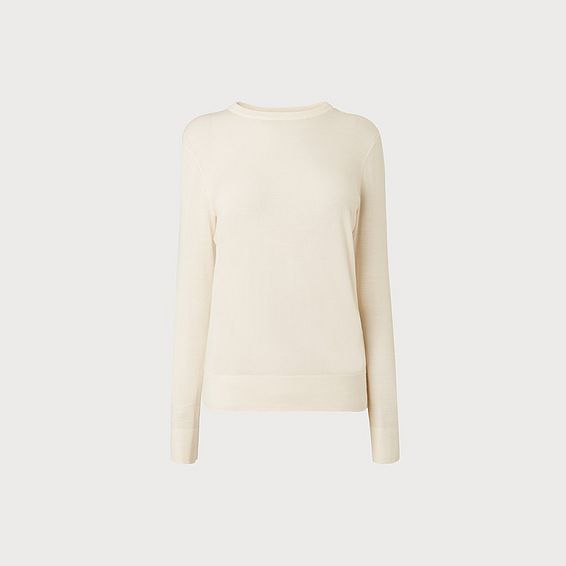 Ceries Cream Merino Sweater
