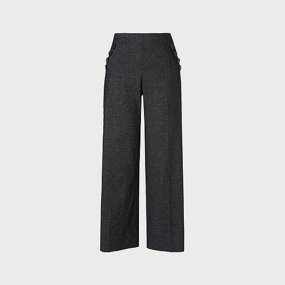 Ellie Navy Pants