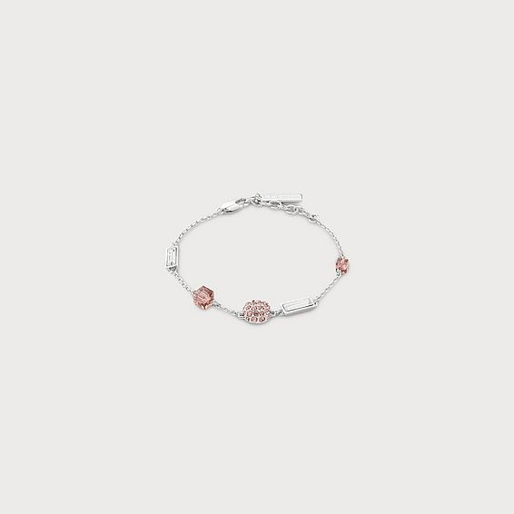 Gisel Pink Crystal Bracelet