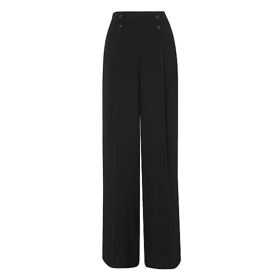 Ollie Black Wide Leg Pants