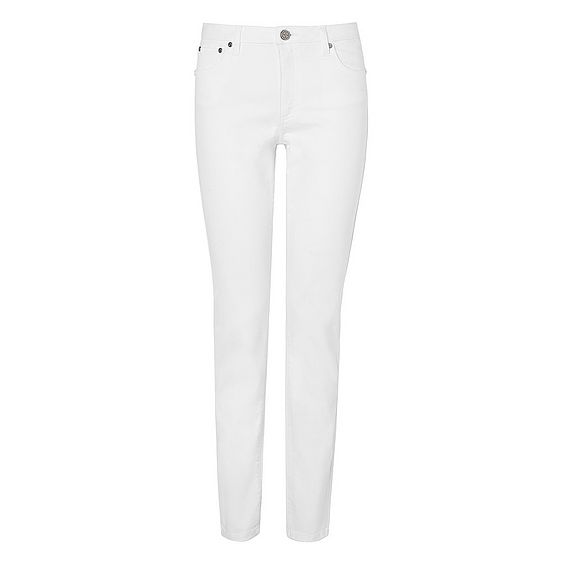 Wils White Denim Pants