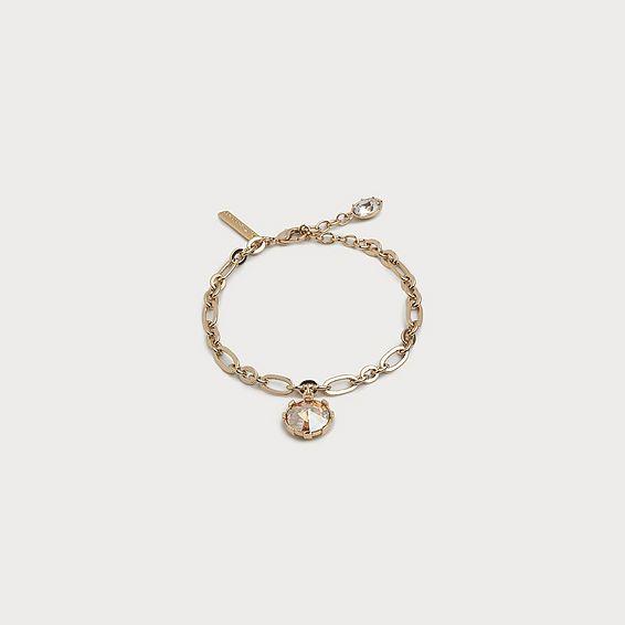 Lydia Crystal Drop Bracelet