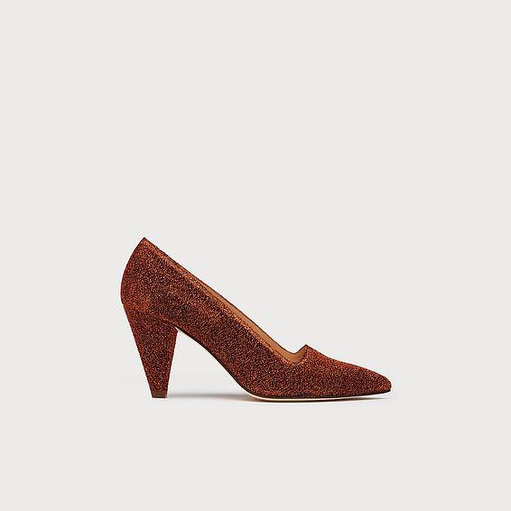 Clem Bronze Cone Heels