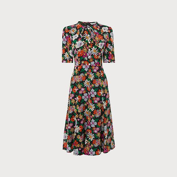 Montana Floral Print Dress