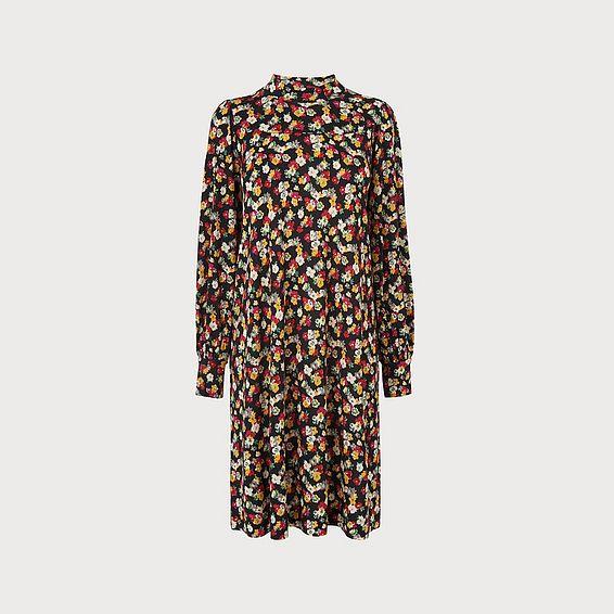 Sarah Floral Jersey Dress