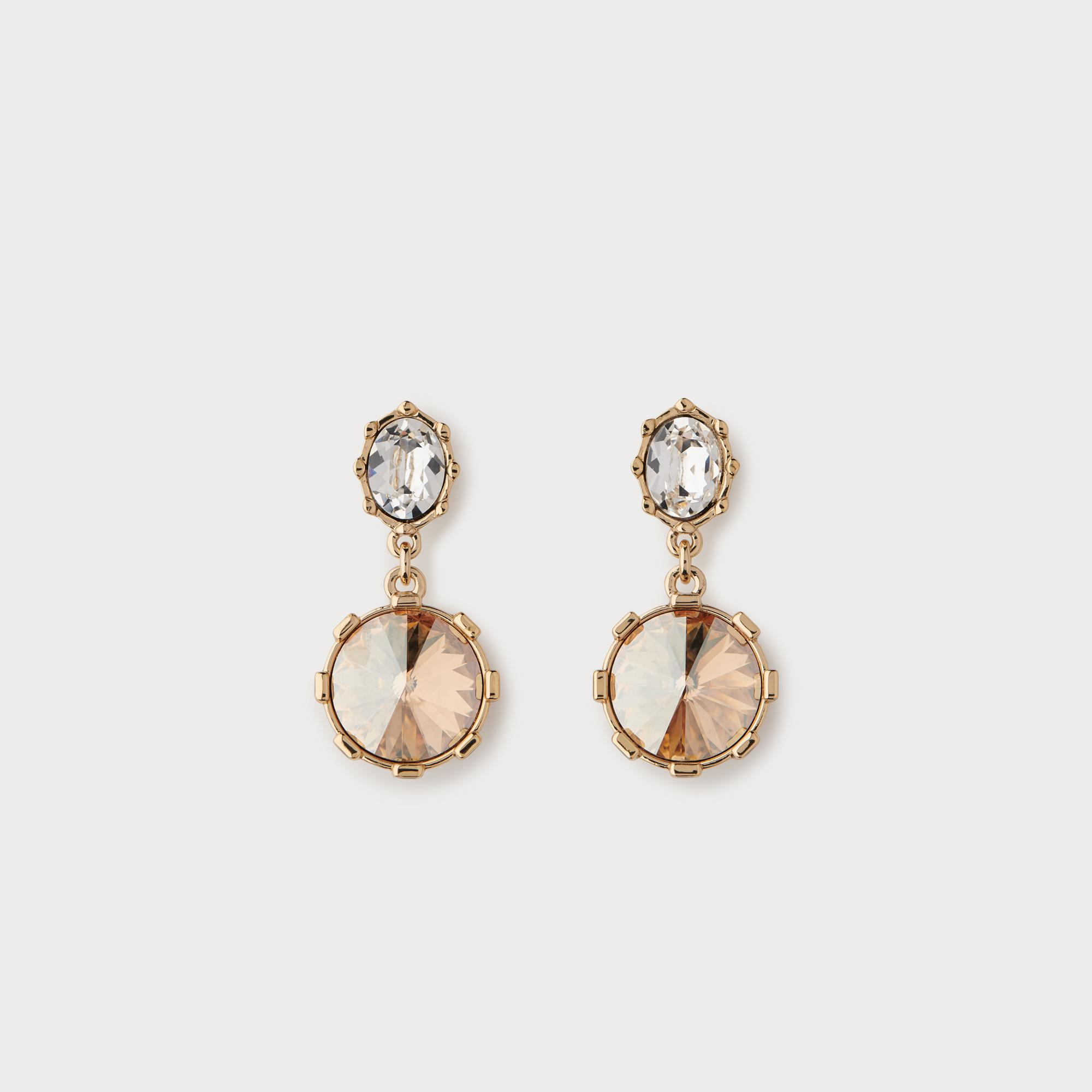 Louisa Crystal Drop Earrings by L.K.Bennett
