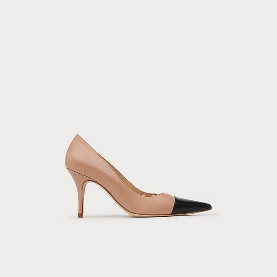 Malia Trench & Black Leather Heels