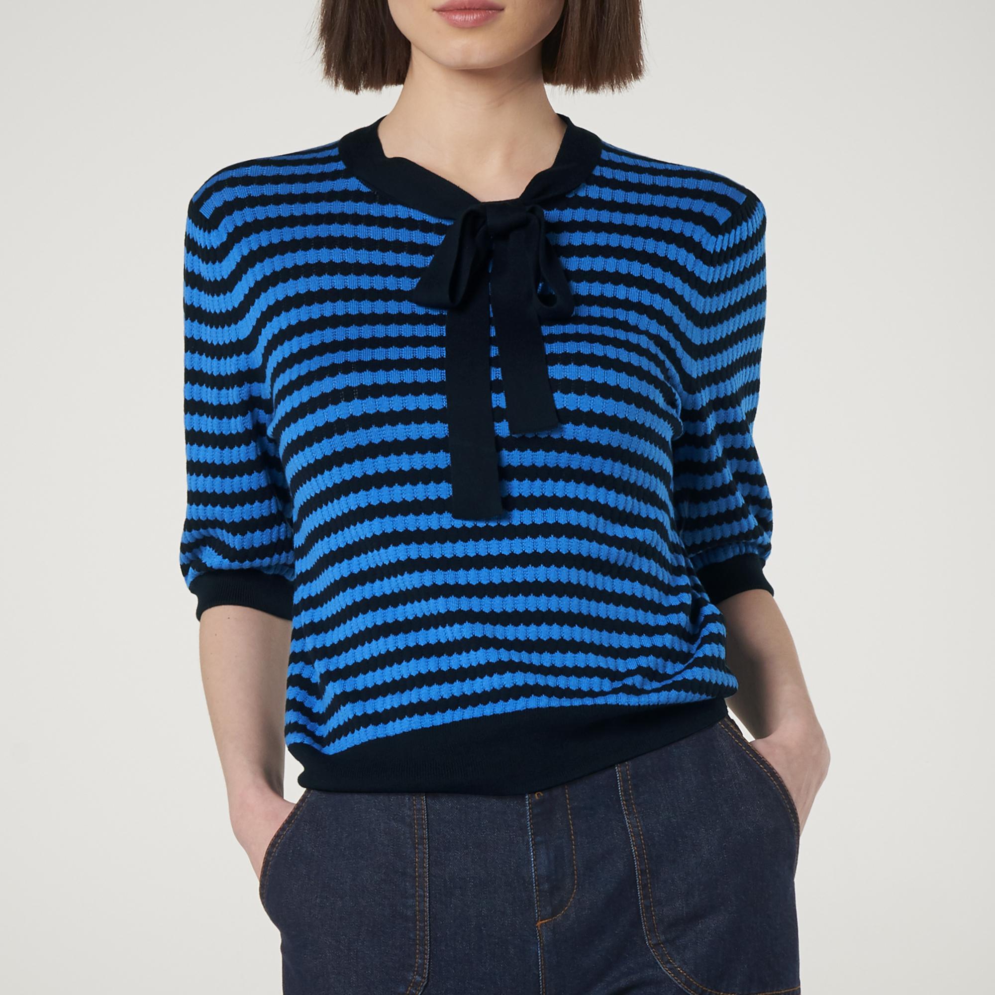 b1f64d8ad Colette Blue Stripe Sweater