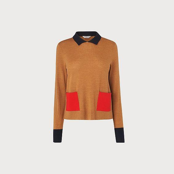 Melanie Tan Merino Wool Sweater