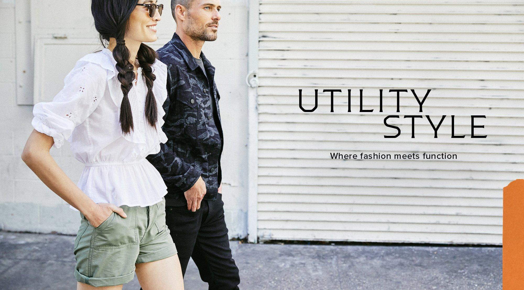 Utility Style: Where fashion meets function.