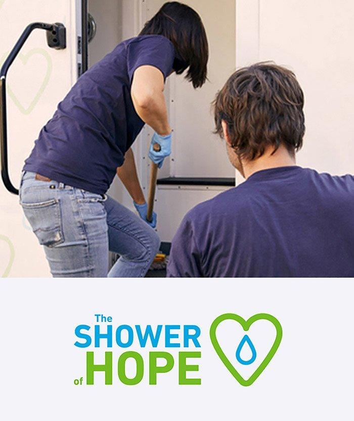 shower of hope