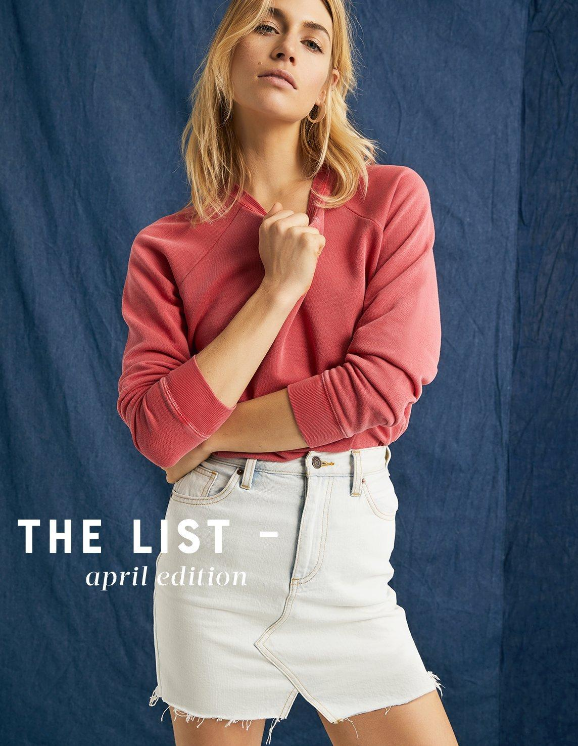 The List April