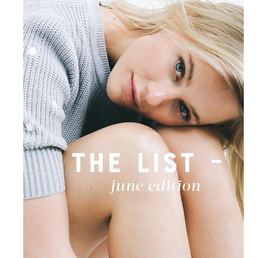 The List June