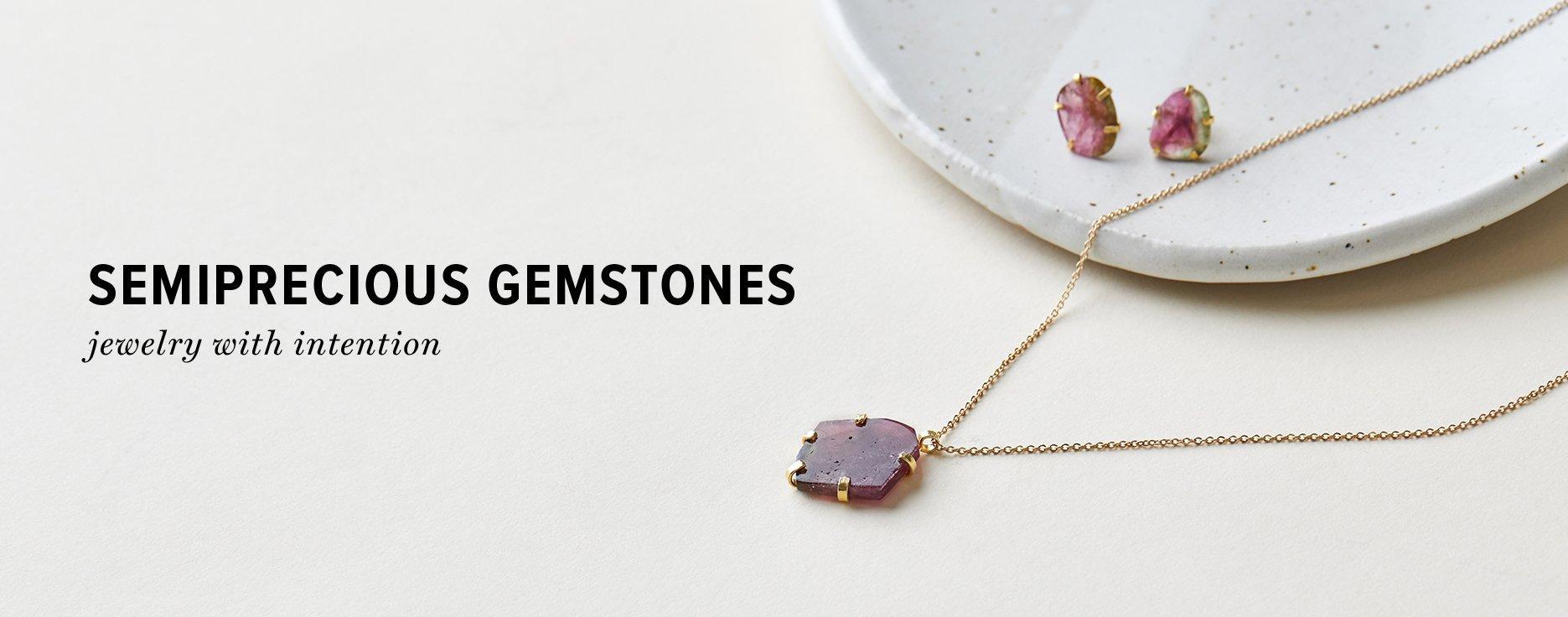 semi-precious jewelry