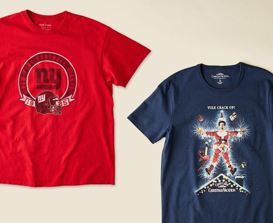 nfl + holiday tee