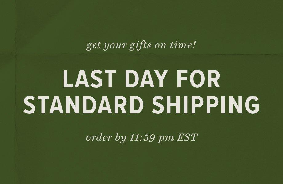 48 hours only! get free ground shipping on all orders!