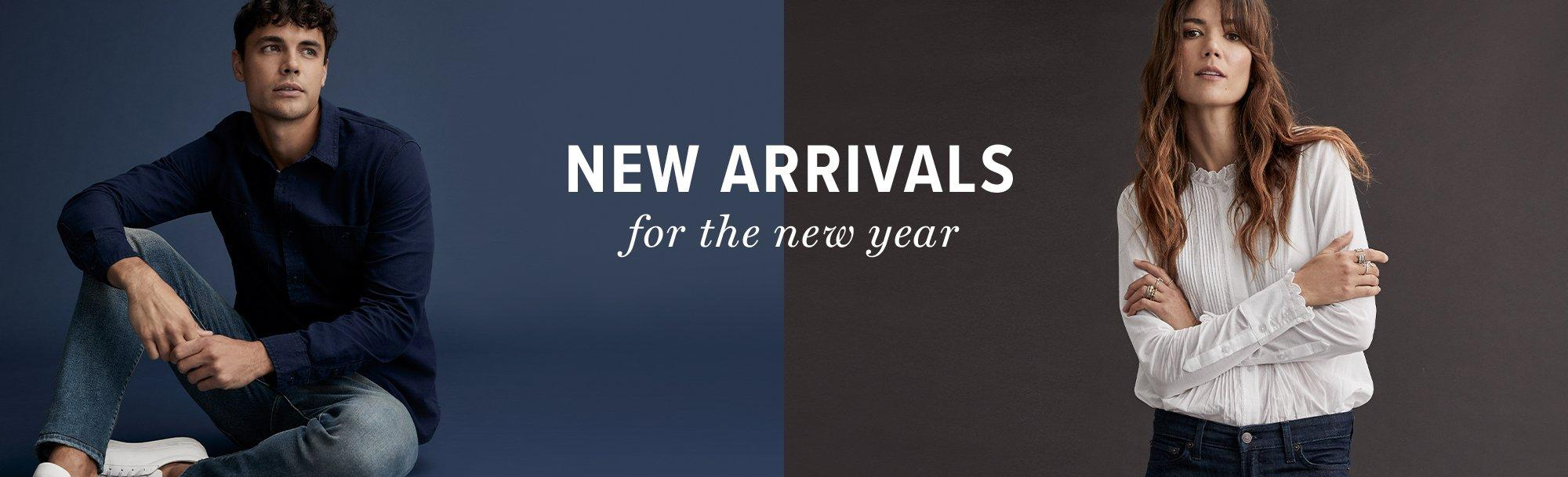 new arrivals for the new year
