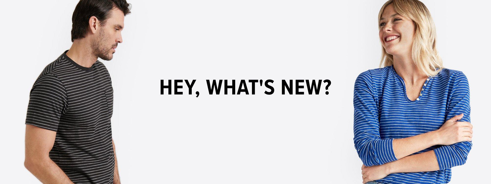hey, what's new?