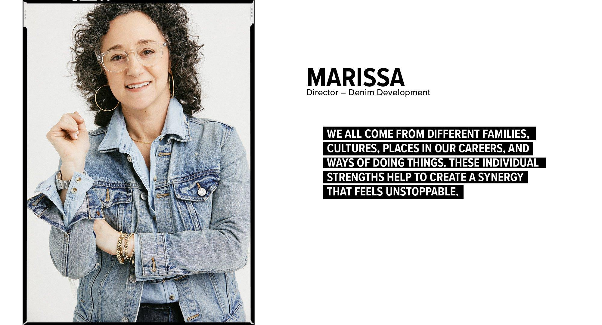 Marissa - Director Denim Development
