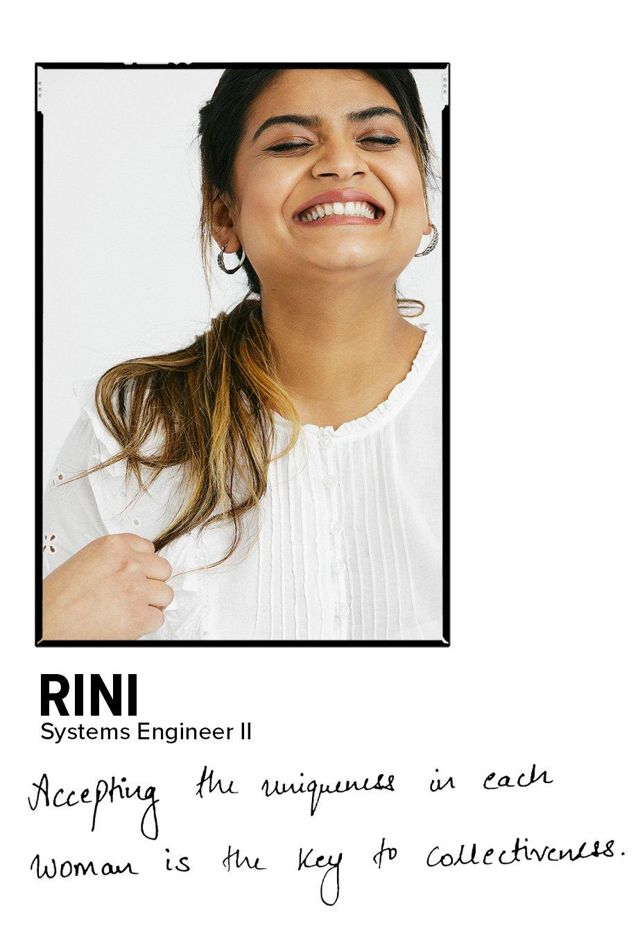 Rini - Systems Engineer II