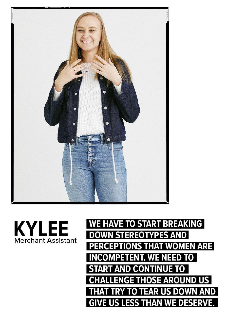 Kylee - Merchant Assistant