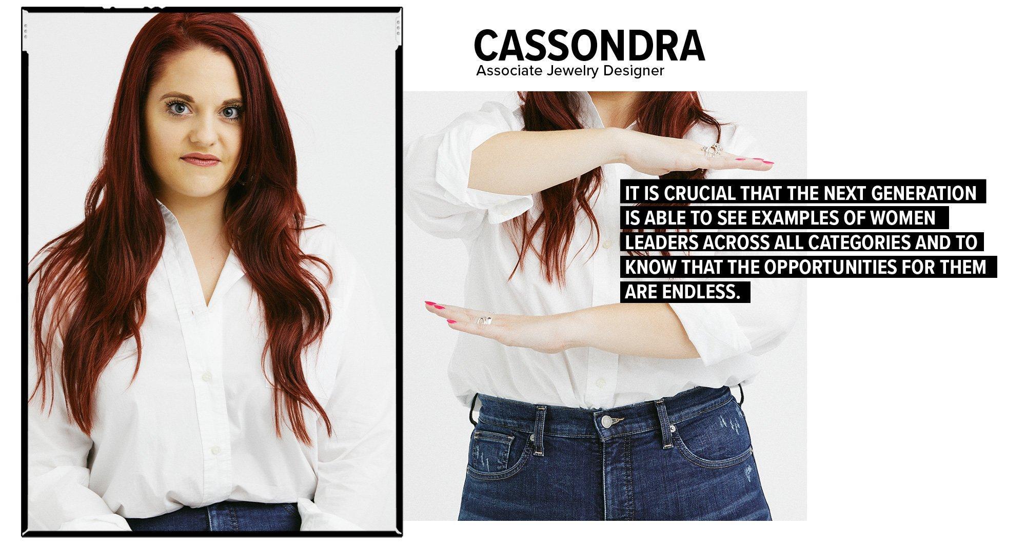 Cassondra - Associate Jewlery Designer