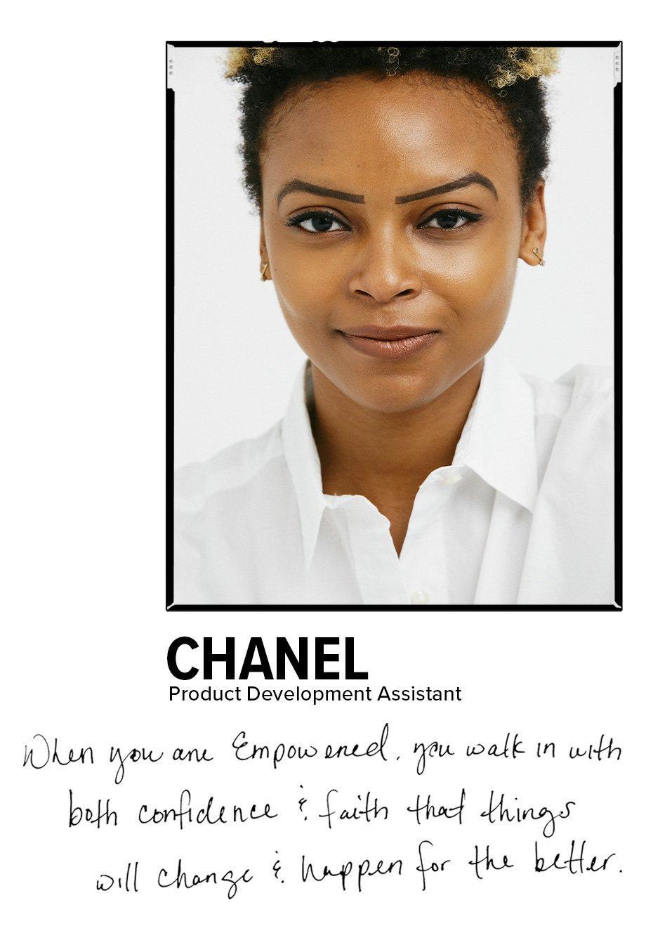 Chanel - Product Development Assistant