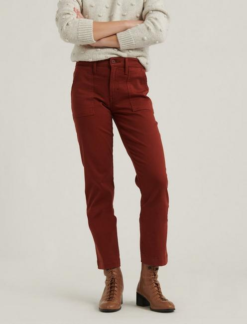 UTILITY STRAIGHT PANT, HARVEST